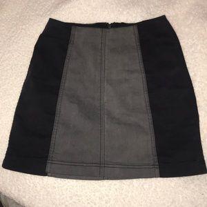 Free People Denim Skirt